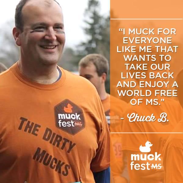 Chuck Bean at MuckFest MS